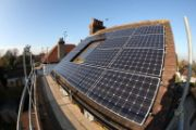 Monthly UK Solar Panel Electricity Output for August
